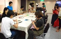 イベント「ウミウシナイト」を東京の野口英世記念館のホールで開催してきました!