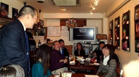 2014.3.6  第4回ちびすけウミウシ写真展オープニングパーティ