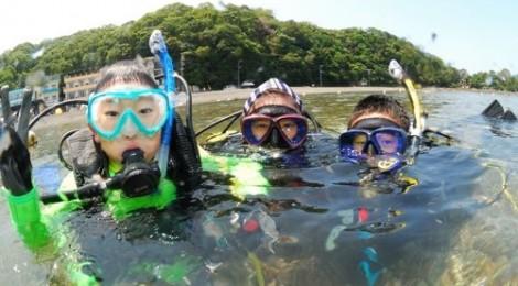 2014.7.30 ファミリーでダイビング♪